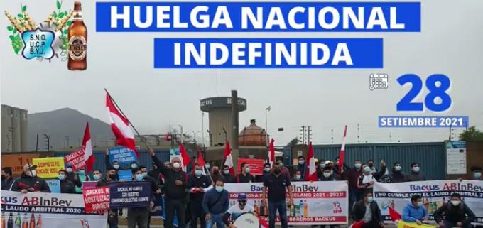 Backsu & Johnston workers on strike